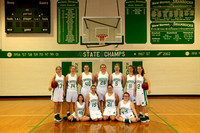 JV Girls Basketball Team and Individuals