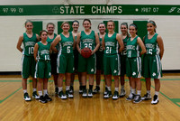 Girls JV Basketball 2015-2016