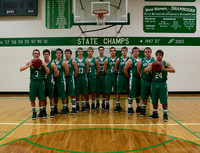 Boys Varsity Basketball 2015-2016