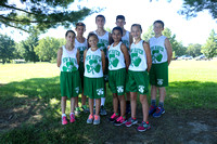 Middle School Cross Country team and individuals