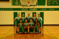 Middle School Girls Basketball Team and Individuals