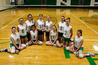 middle school volleyball team and individuals
