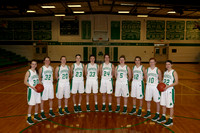 Girls Basketball Districts Team Photo